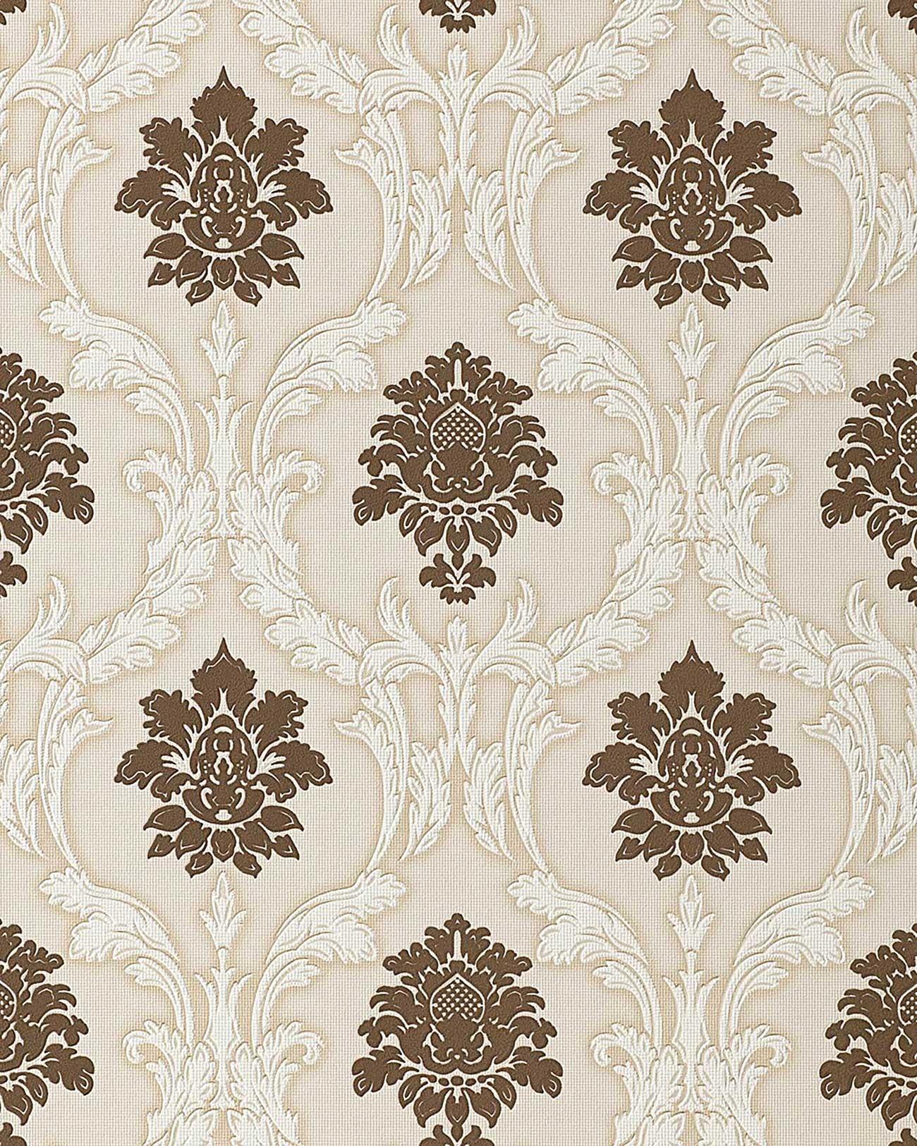 tapeten braun beige ~ dekoration, inspiration innenraum und möbel ... - Tapeten Braun Beige