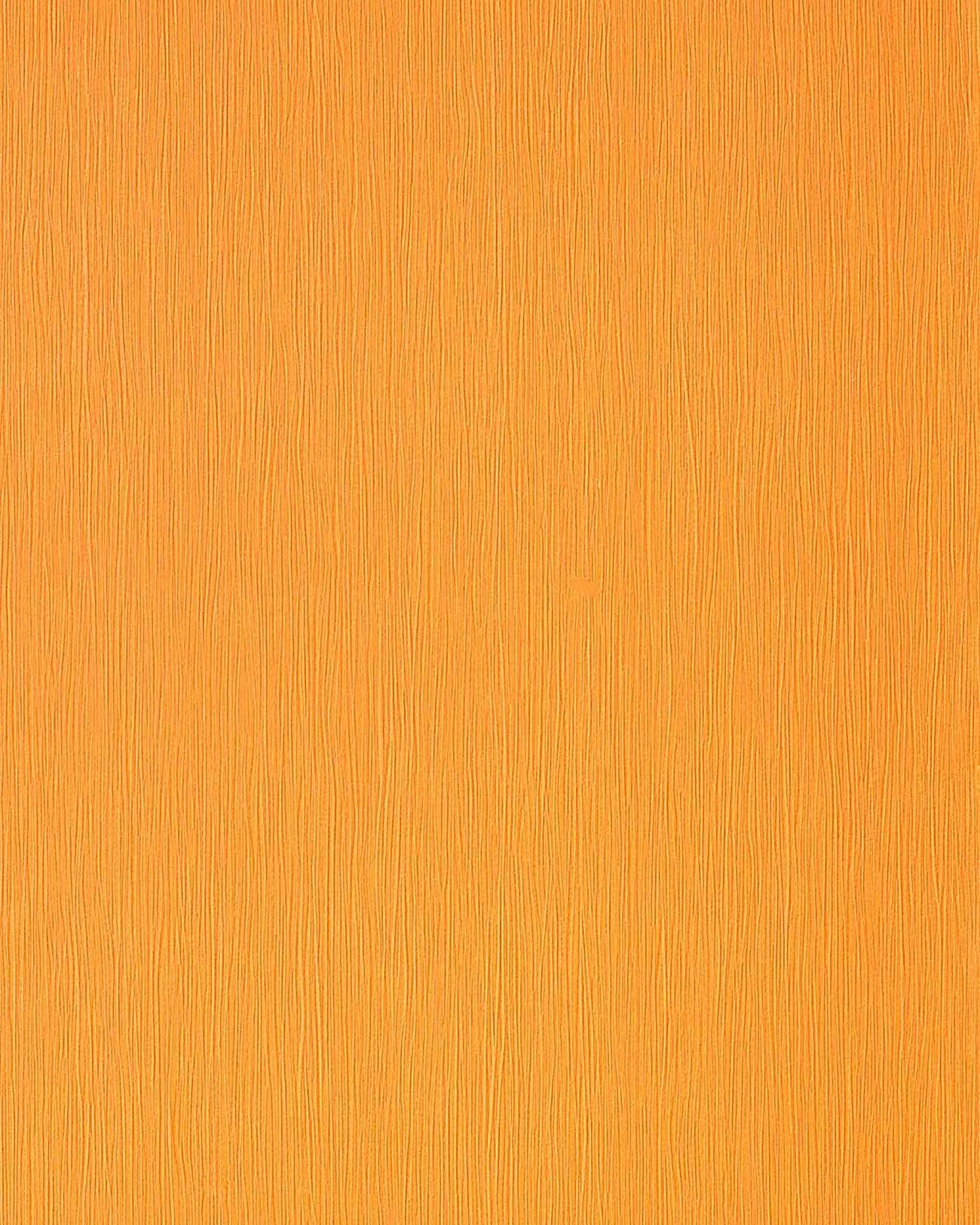 Original edem gelb orange permutt akzent uni leicht for Tapete gelb